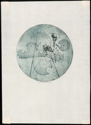 Circle - Traces of material (graphics 8)
