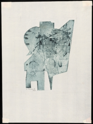 Active Graphics (Graphic print 10) (from the cycle The Unconventional Forms)