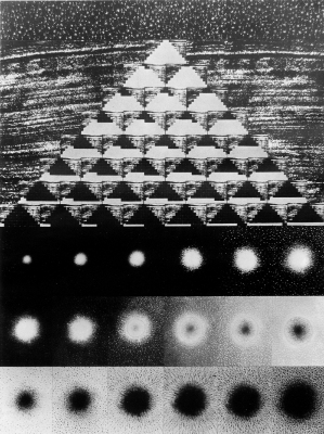 Thread Pyramid (concentration and disintegration of energies)