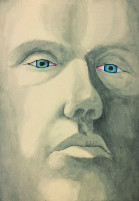 Untitled (Self-portrait with Blue Eyes)