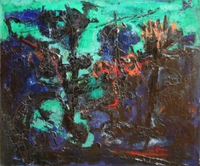 Untitled (Green Landscape)
